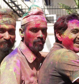 Holi, Festival of Colors, Jaipur, India