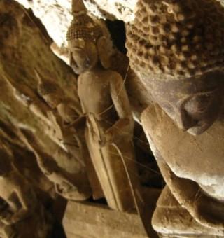 Pak Ou Caves Buddha Statues