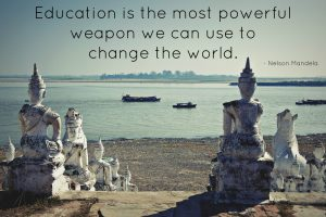education homeschool travel quote