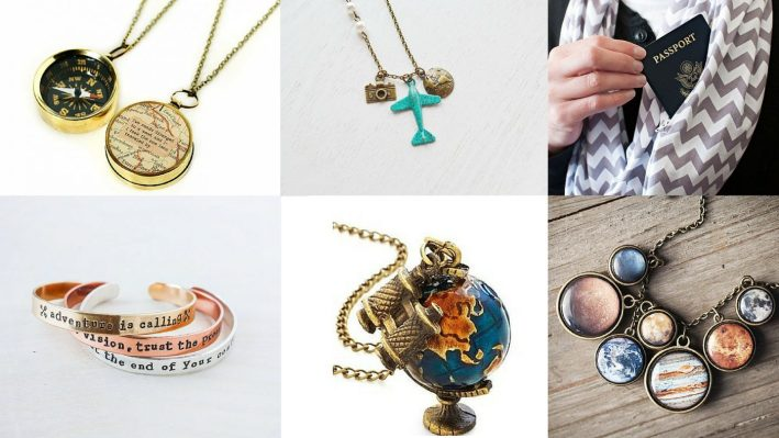 Gorgeous Travel-Themed Jewelry