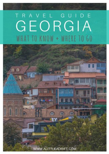 travel tips republic of georgia