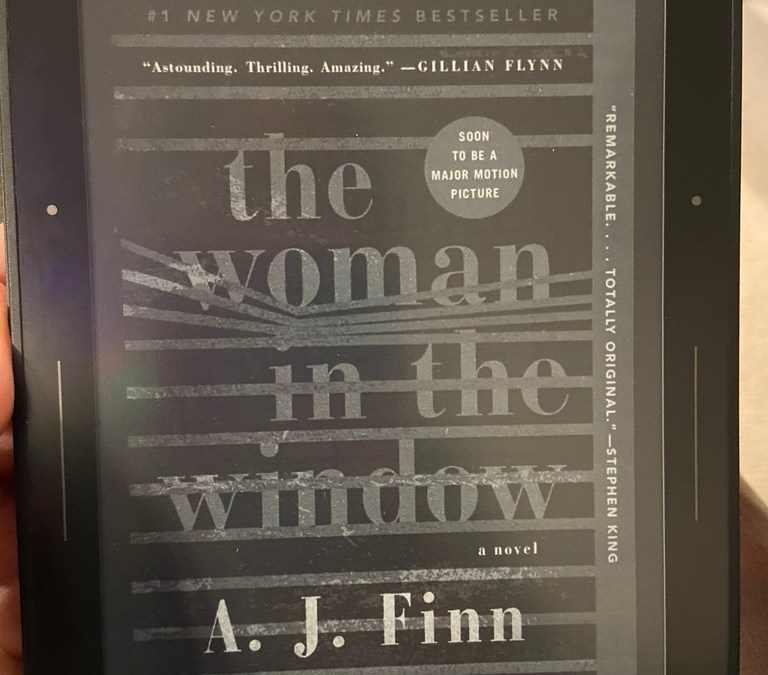 Completely Unbiased Book Review: The Woman in the Window by AJ Finn