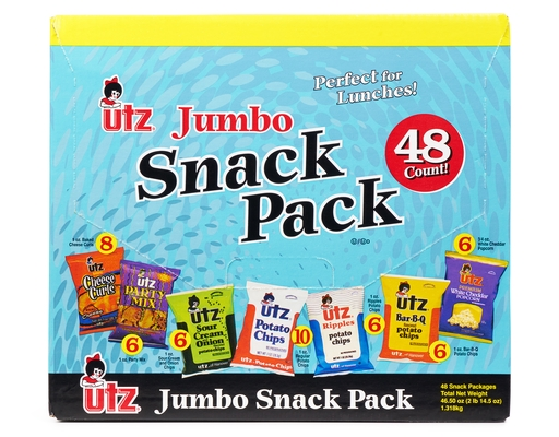 Boxed.com Utz Snack Pack