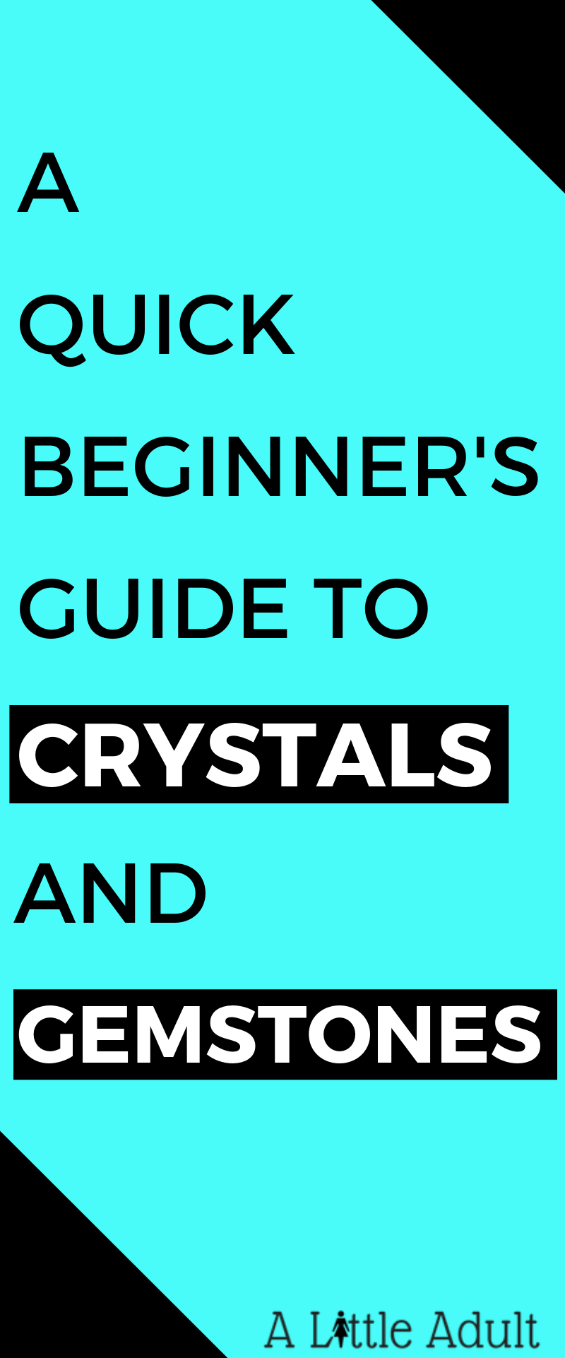 Quick Beginners Guide to Crystals and Gemstones