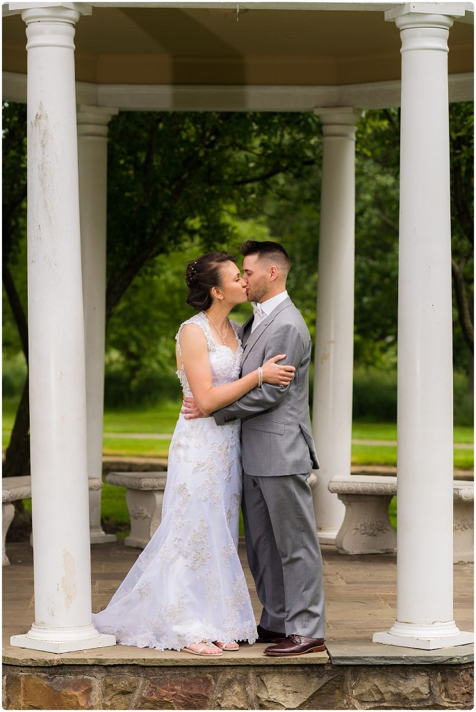 Allentown Rose Garden Wedding Portraits