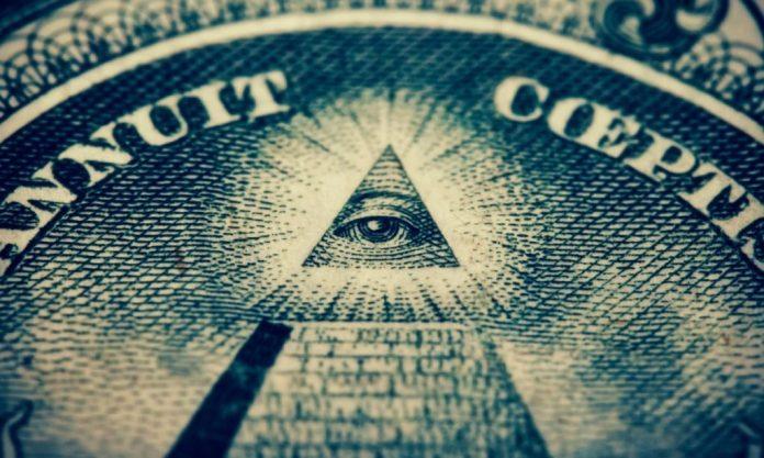 illuminati eye in pyramid