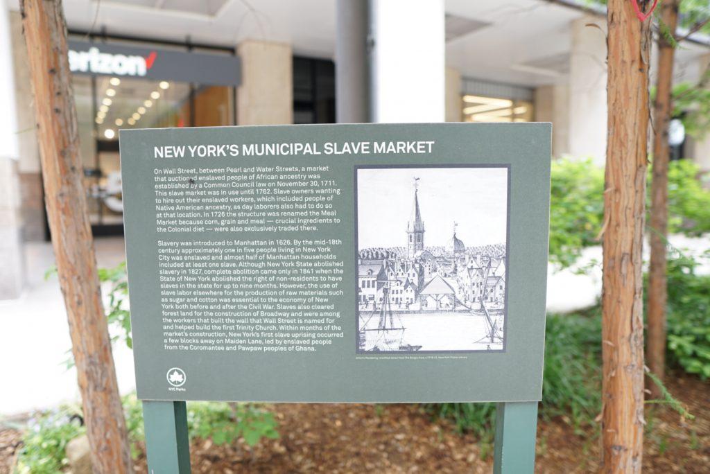 new york slave market