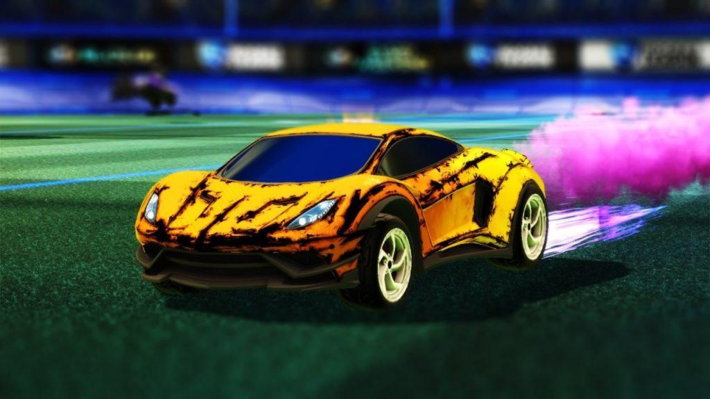 rocket league endo car
