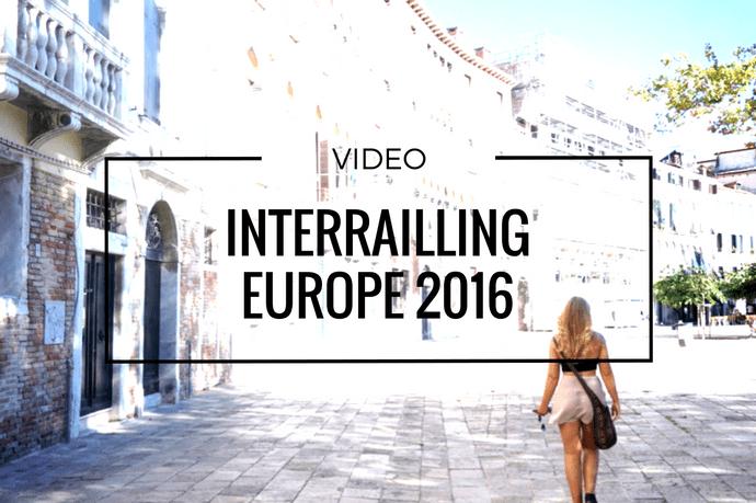 Interrailing Europe 2016 | Bekah Molony