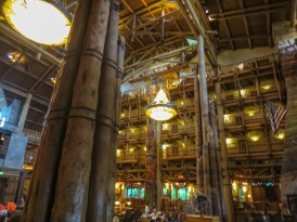 Inside the Wilderness Lodge Resort