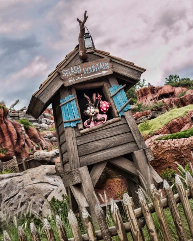 Splash Mountain at Walt Disney World.
