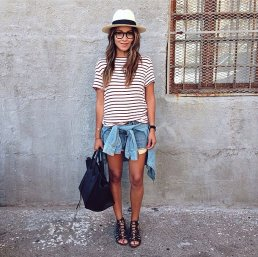 Our-unofficial-Summer-uniform-just-top-off-your-stripes-cutoffs
