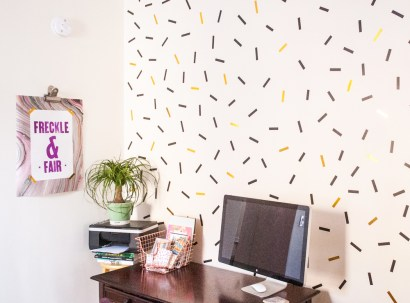 diy-oversized-confetti-mural-with-washi-tape-1