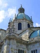 Church dome in Como