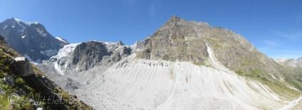 Arolla valley panorama