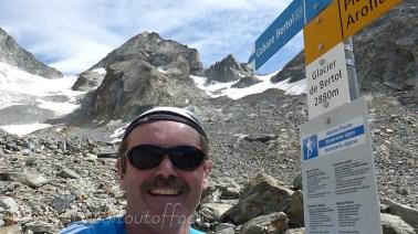 Selfie at Glacier de Bertol
