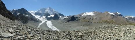Mont blanc de Cheilon panorama