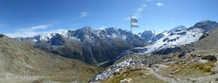Aiguilles Rouge hut view