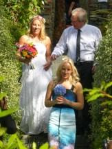 Alice, Sarah & Peter arrive