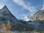 Mont Miné and glacier