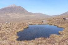 10 Lochan with Beinn Damh (L)