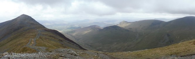 11 Grisedale Pike (L) & Causey Pike (R of centre)