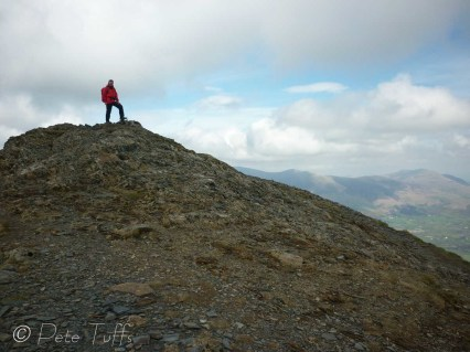 15 On top of Grisedale Pike