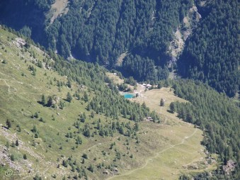 11 Lac Bleu from above