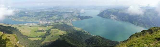3 View of Zugersee (R) from the top