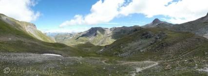 8 View east from the Pas de Lovégno