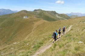 16 On the way to the Cabane du Col de Mille