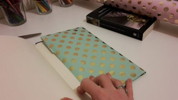 DIY Friday – Luxury dust jackets that get your message across. Step 3