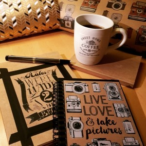 DIY Friday – Unique notebooks for bookworms and stationery-lovers. Creating notebooks using old postcards