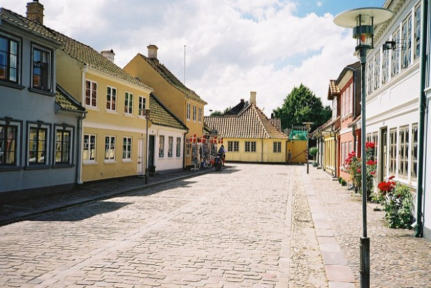 Fantastic Fairy Tale Authors and Where to Find Them - Odense. Image by Nigel's Europe & beyond