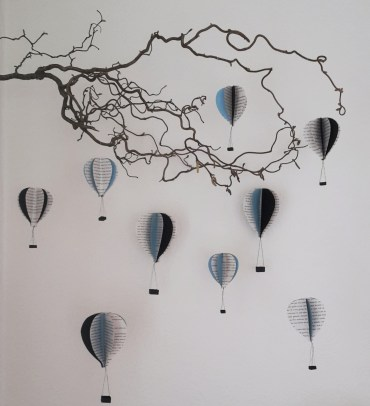 DIY Friday – Bookish air balloon mobile 23