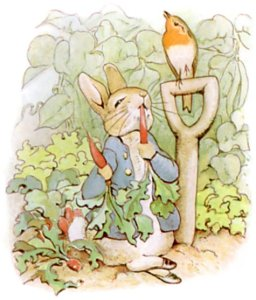 Peter Rabbit - Bookish Easter - Looking for literature's famous bunnies