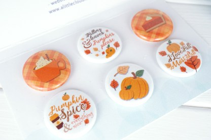 fall themed Magnets