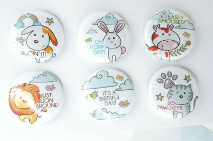 cute animal magnets