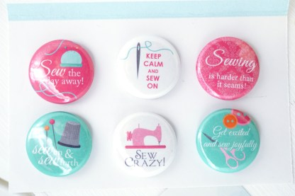sewing puns magnets