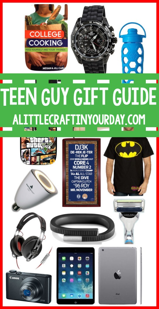 Teen Guy Gift Guide A Little Craft In Your Day