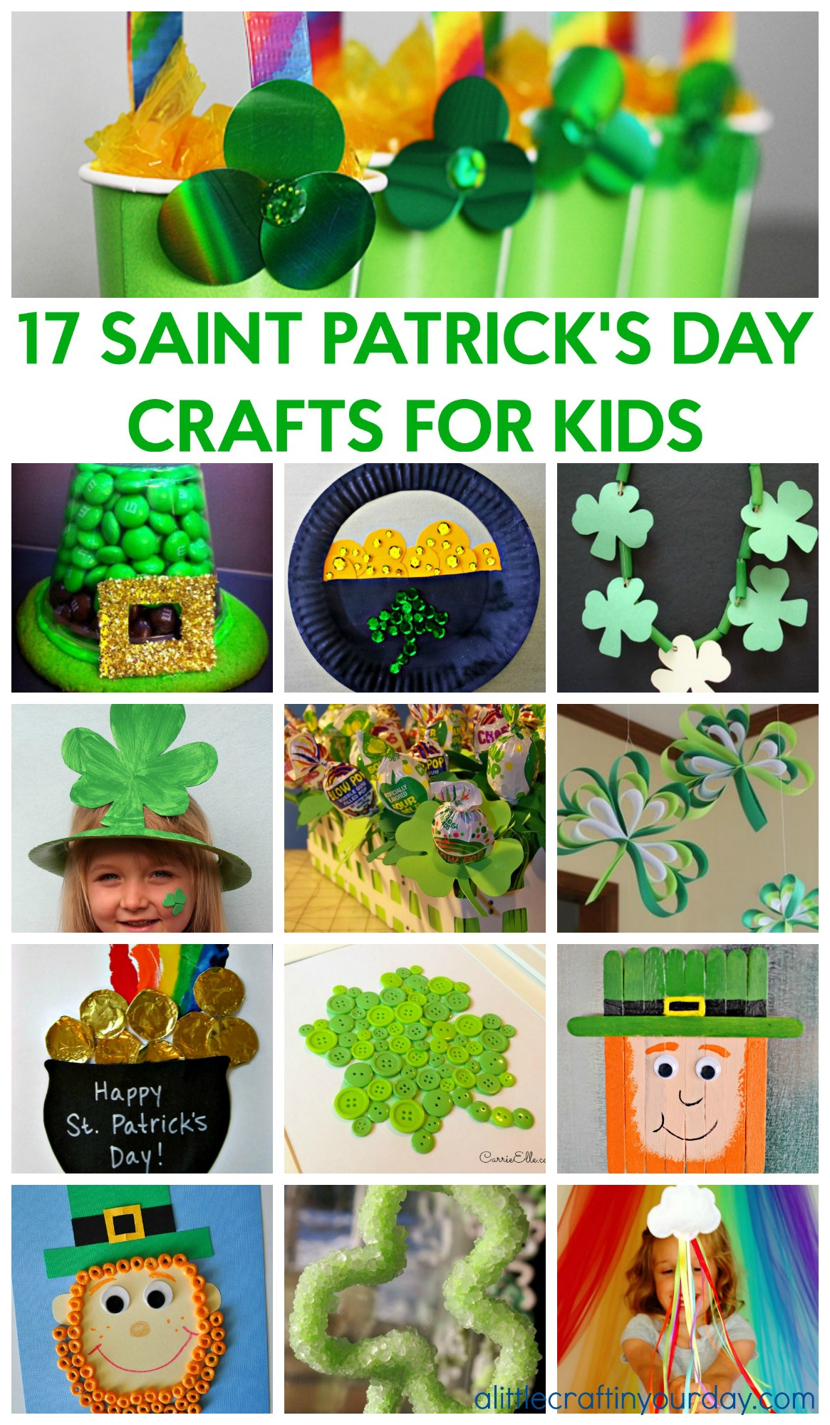 17 Saint Patrick S Day Crafts For Kids