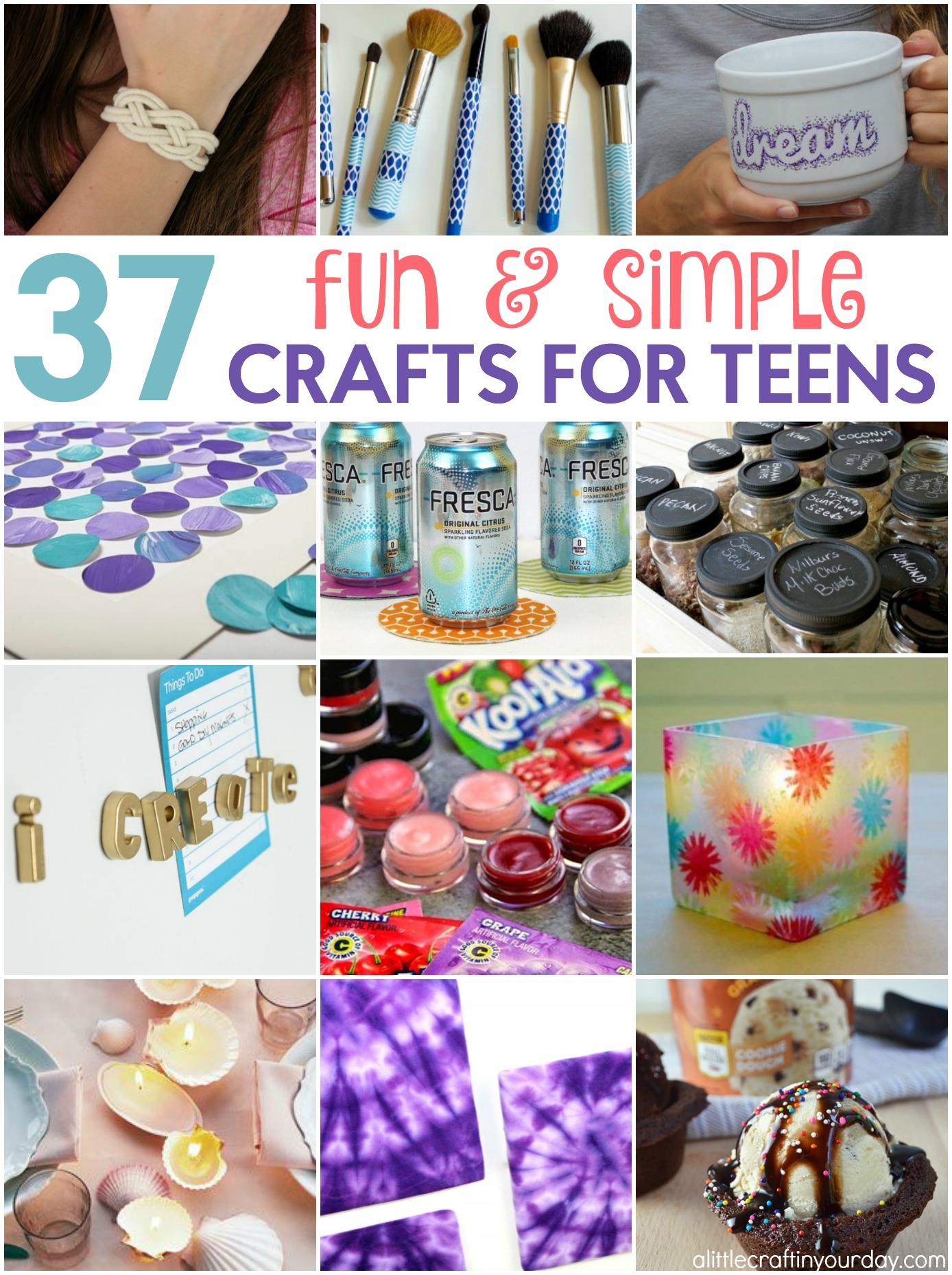 37 Fun And Simple Teen Crafts