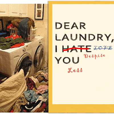 I Went From Hating Laundry to Loving… Despising it Less it in One Easy Step