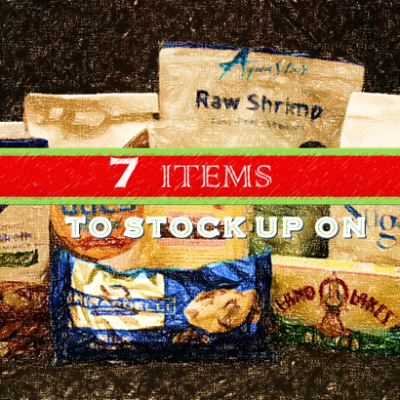 7 Grocery Items You Should Stock Up On During the Holiday Season