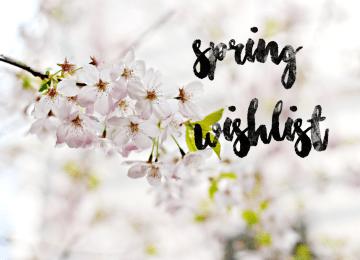 spring wishlist