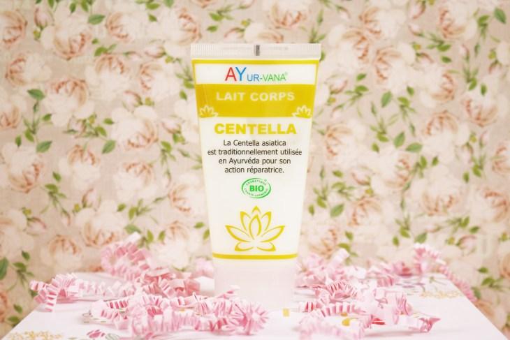 Biotyfull Box Septembre : lait pour le corps Centella Ayur-Vana