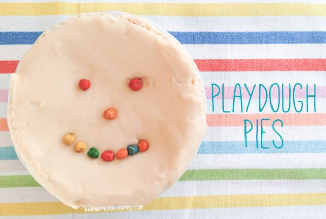 playdough pies