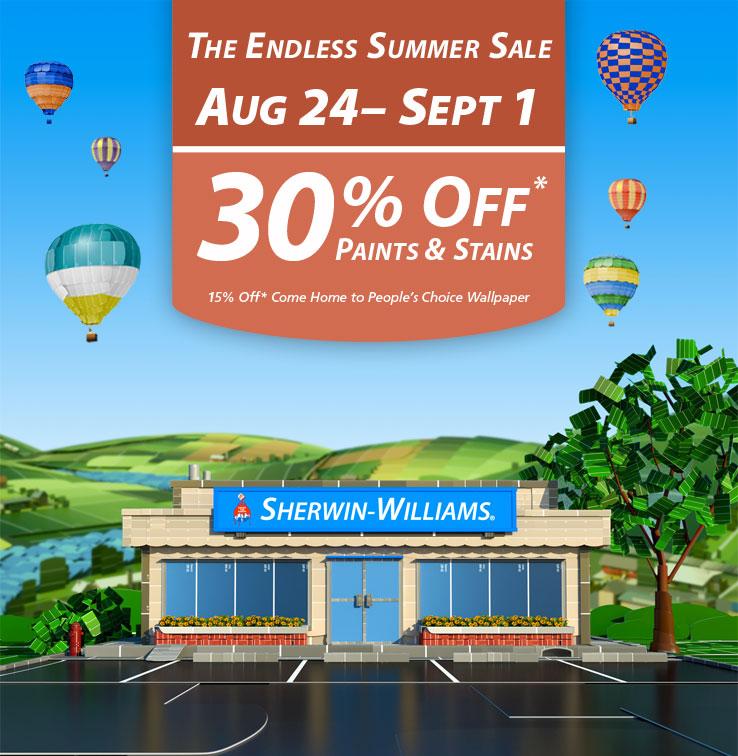 Endless Summer Paint Sale 2014 A Little Design Help