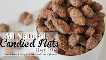 The BEST Candied Nuts Recipe - Use Any Nuts or Seeds!