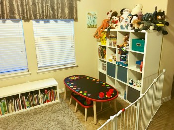 How we created the perfect playroom storage system on a budget using Ikea products.